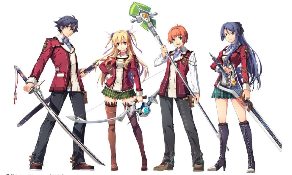 [Magazine Leaks] Character Profiles for Sen no Kiseki Showing Up