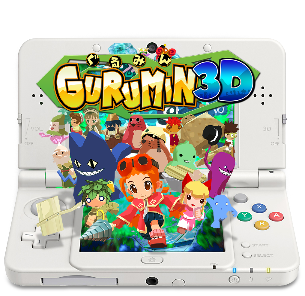 Gurumin 3D to be Released to the Japanese Nintendo e-shop in November 2016