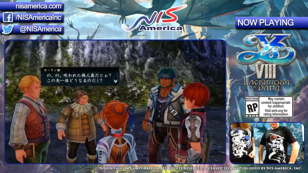 Alan talked a little bit about how Ys VIII features a dual protagonist system with Adol and Dana, and how Adol sees Dana in his dreams and you can play her ...
