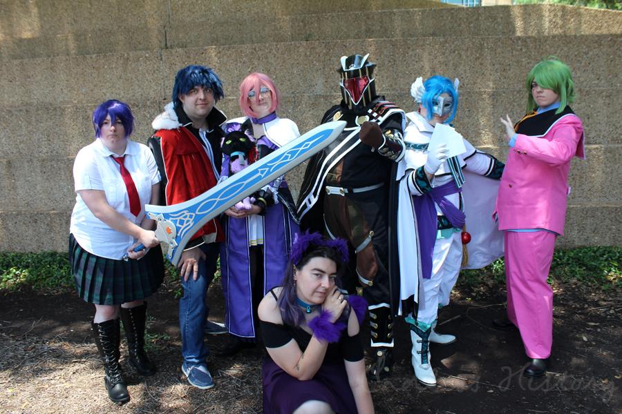 [Fandom Fri- err Sunday?] Project A-Kon Trails Series Cosplay Group