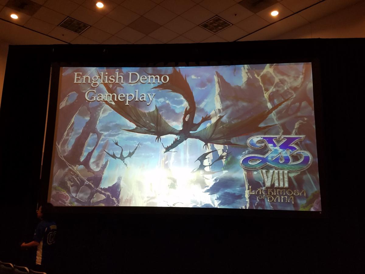 [AnimeExpo] Ys VIII Gameplay Panel Highlights