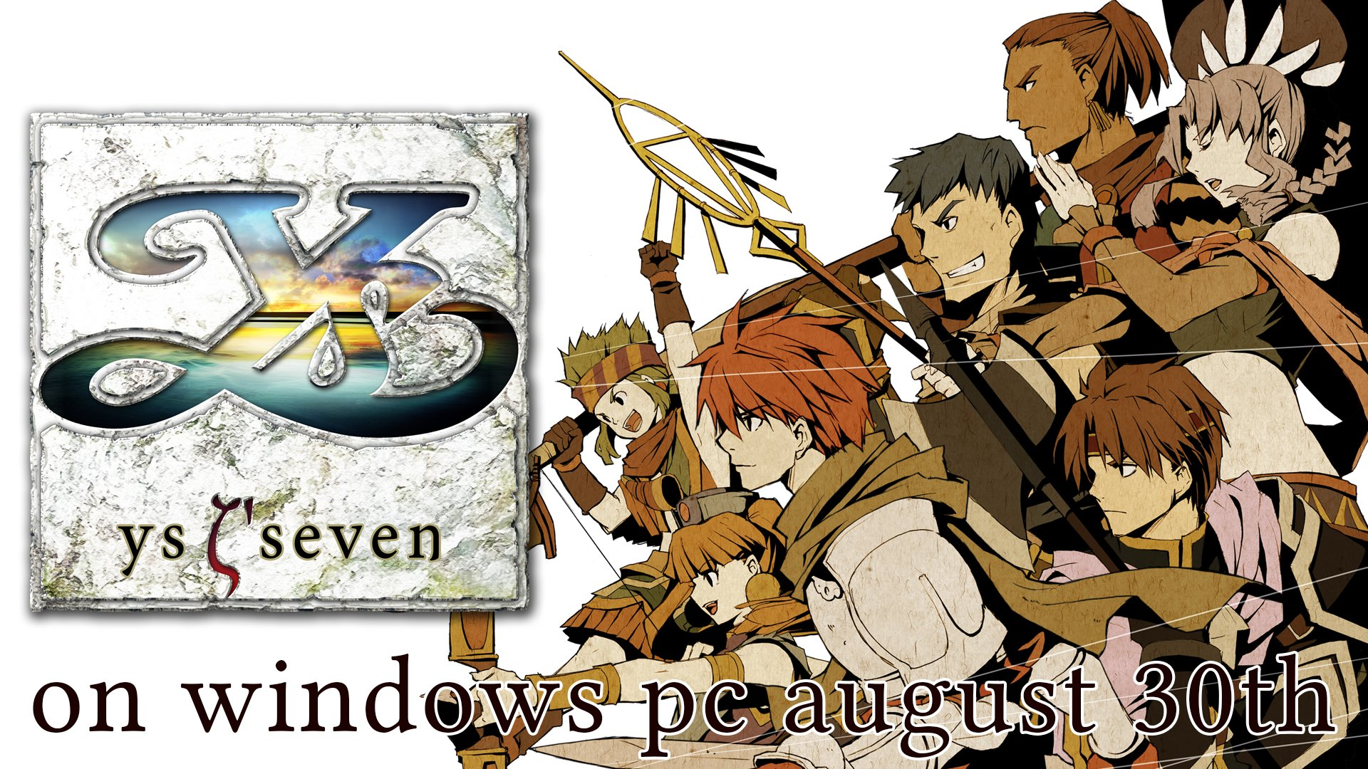 Ys Seven Launches for PC on Steam, GOG, and Humble Store on Aug 30 from XSEED Games
