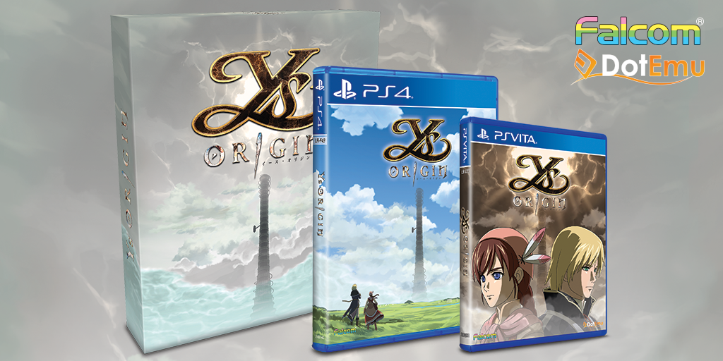 Limited Run Games' Preorders of Ys Origin on 8/25 – Standard is Manufactured to Demand, Collector's Edition has 3,000 Units